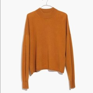 NWT Madewell cashmere melted caramel sweater